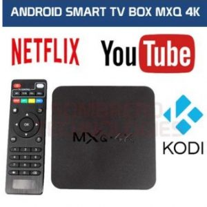 SMART TV BOX,TV BOX ANDROID, 4K SMART ANDROID TV BOX MEDIA PLAYER (NETFLIX, WIFI, KODI)