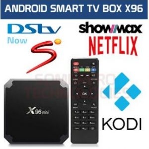 DSTV NOW X96 mini 4K TV Box (Supports, SHOWMAX, NETFLIX, MIRACAST, KODI)