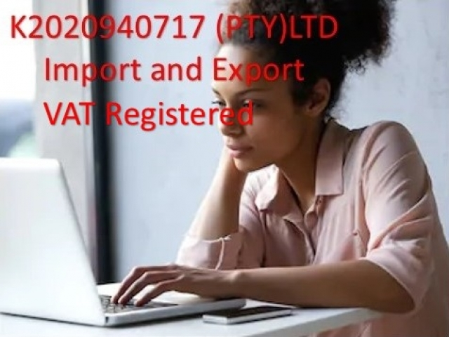 Import Export VAT Shelf Company